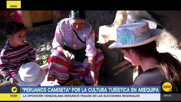 Informe sobre emprendimientos de turismo rural comunitario en Arequipa.