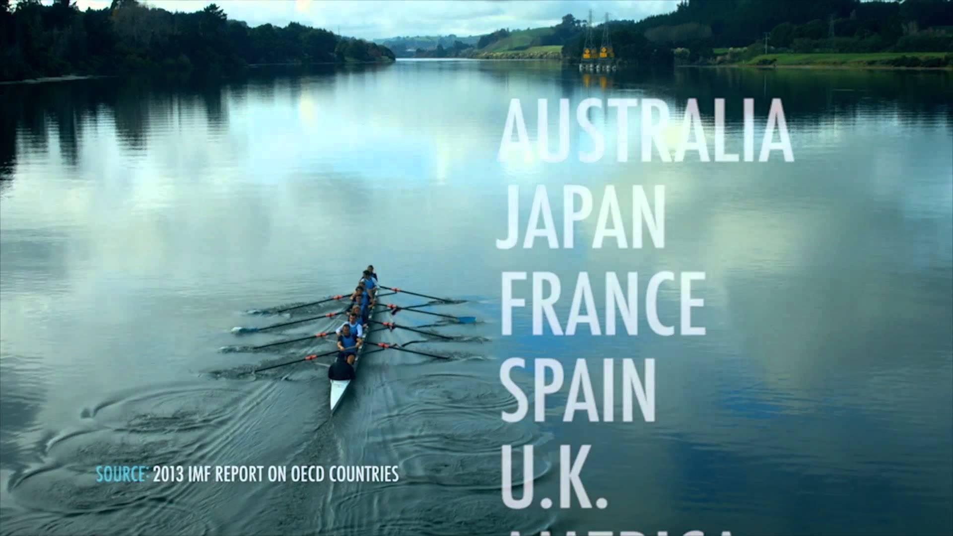 Video utilizado en la campaña del Partido Nacional Neozelandés