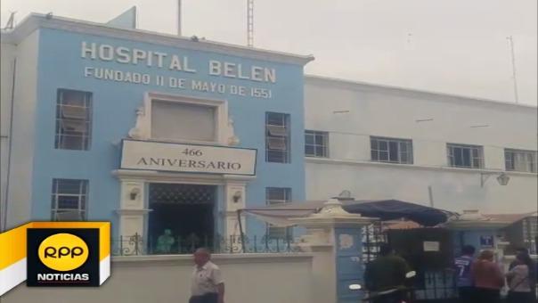 Susalud comprobó que pacientes con tuberculosis del Hospital Belén son atendidos en los pasillos.