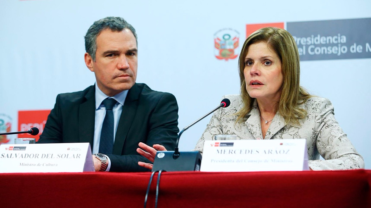 Mercedes Aráoz defendió el desarrollo del censo del domingo.