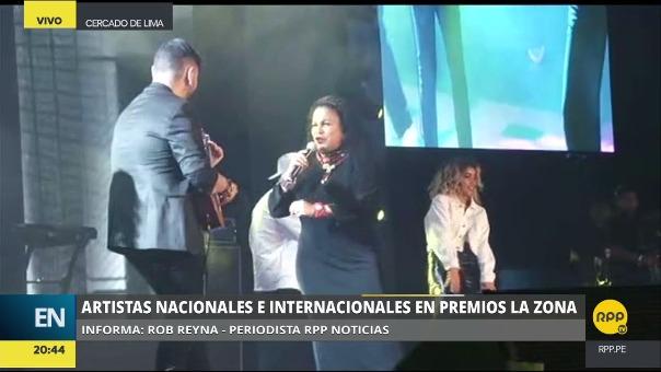 Eva Ayllón interpretó a 'Despacito' a ritmo de la música peruana.