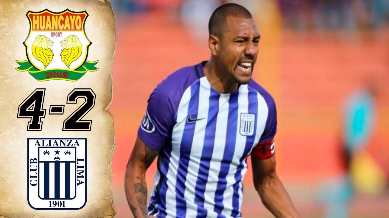 Revisa todos los goles del Sport Huancayo 4-2 Alianza Lima por la fecha 10 del Clausura.