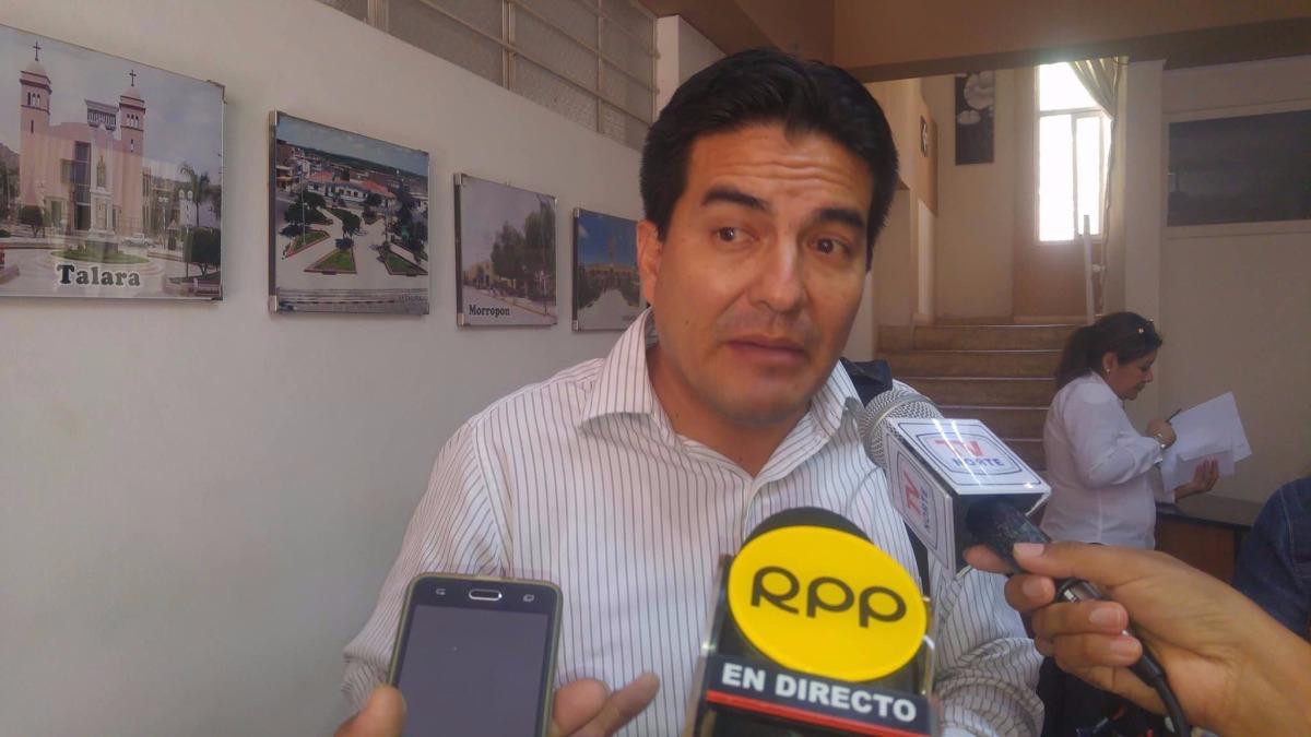 Consejero regional de Piura, Óscar Echegaray, se mostró de mostró de acuerdo con reversión de obras de la reconstrucción de la región al Ejecutivo nacional.