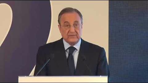 Escucha las declaraciones de Florentino Pérez, presidente del Real Madrid, .