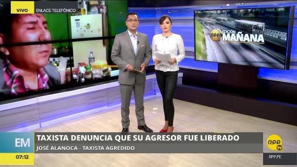 José Alanoca conversó con RPP sobre lo que hizo y sobre la liberación de su agresor.