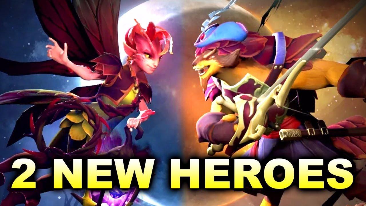 Los nuevos héroes de Dota 2 en acción.