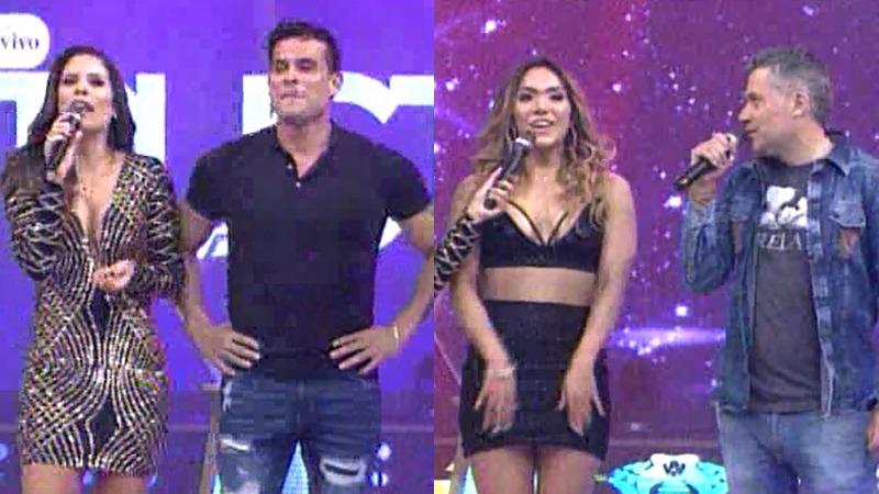 Christian Domínguez y su pareja Isabel Acevedo ingresaron a 'Esto es Guerra'.