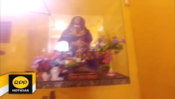 Cristo de Huamán luce sin sus joyas de plata