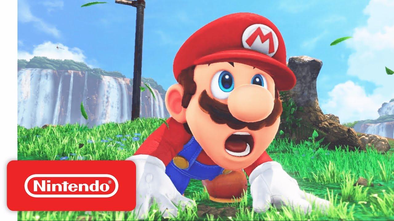 Video del lanzamiento del nuevo juego de Mario en el E3 2017.