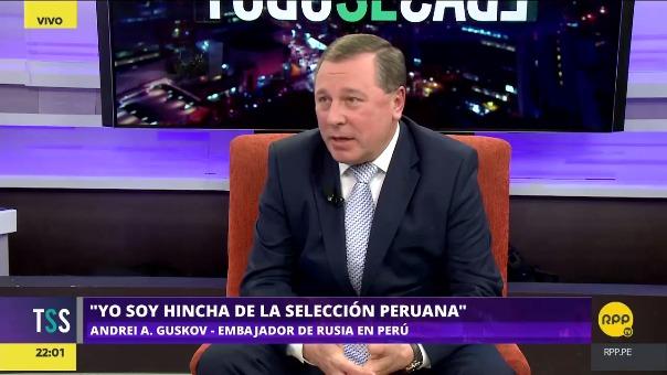 Esta es la segunda vez que Andrei Guskov es embajador en el Perú, pues también lo fue entre 1990 y 1994.