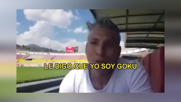 El video que es parte de una entrevista de Raúl Ruidíaz a un medio mexicano.