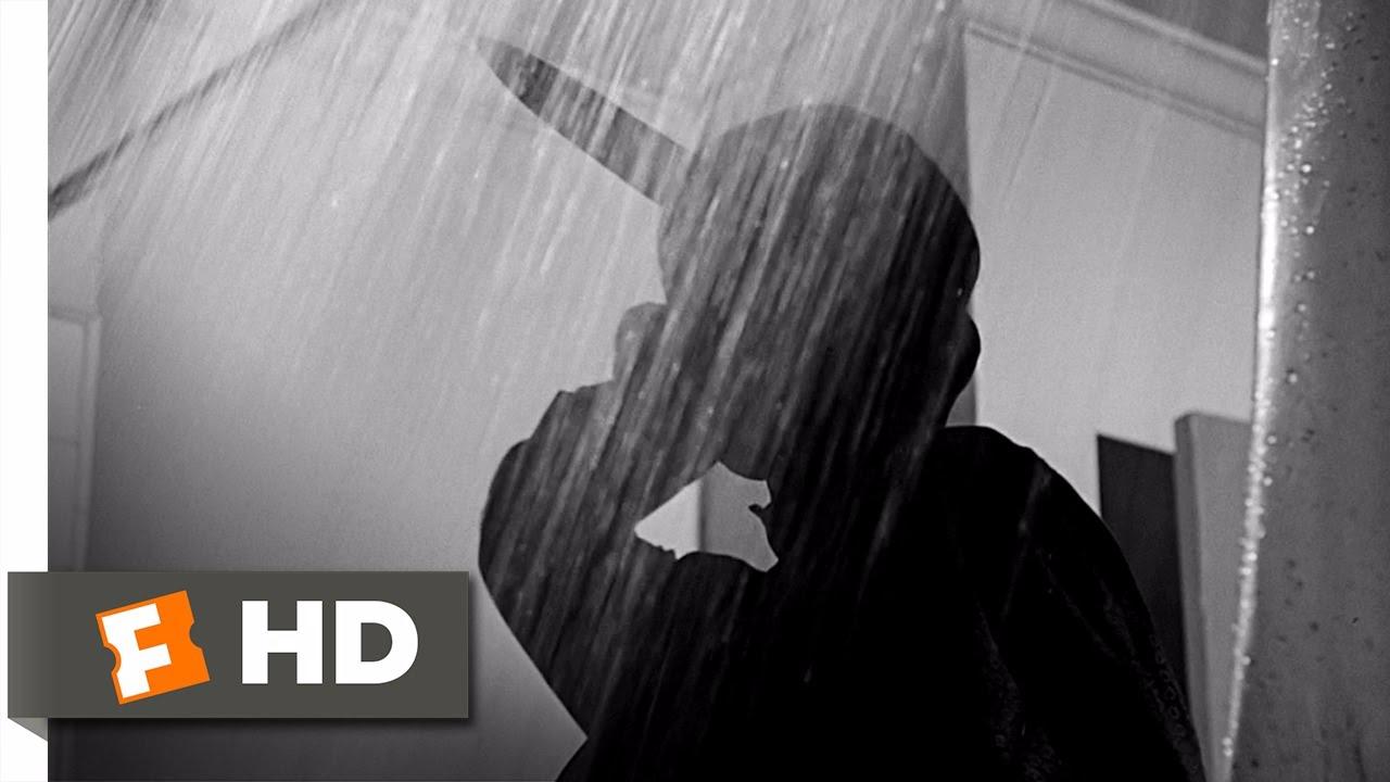 La memorable y chocante muerte del personaje de Janet Leigh en Psicosis.