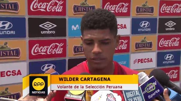 Wilder Cartagena integró la Selección Sub 20 de Daniel Ahmed que se quedó cerca de ir al Mundial de Turquía en el 2013.