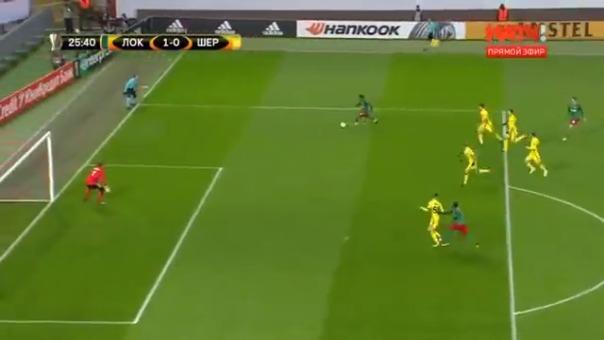 Revive el golazo de Jefferson Farfán para el Lokomotiv en el primer tiempo.