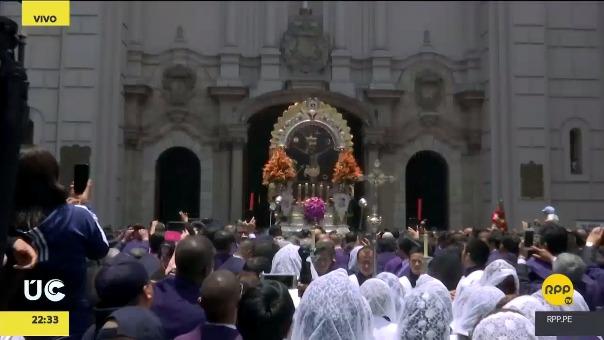 RPP, como cada año, cubre la procesión del Señor de los Milagros, contando los pormenores de esta festividad católica.