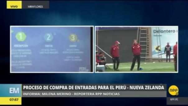 Teleticket explicó el proceso de la venta de entradas para el Perú vs. Nueva Zelanda.