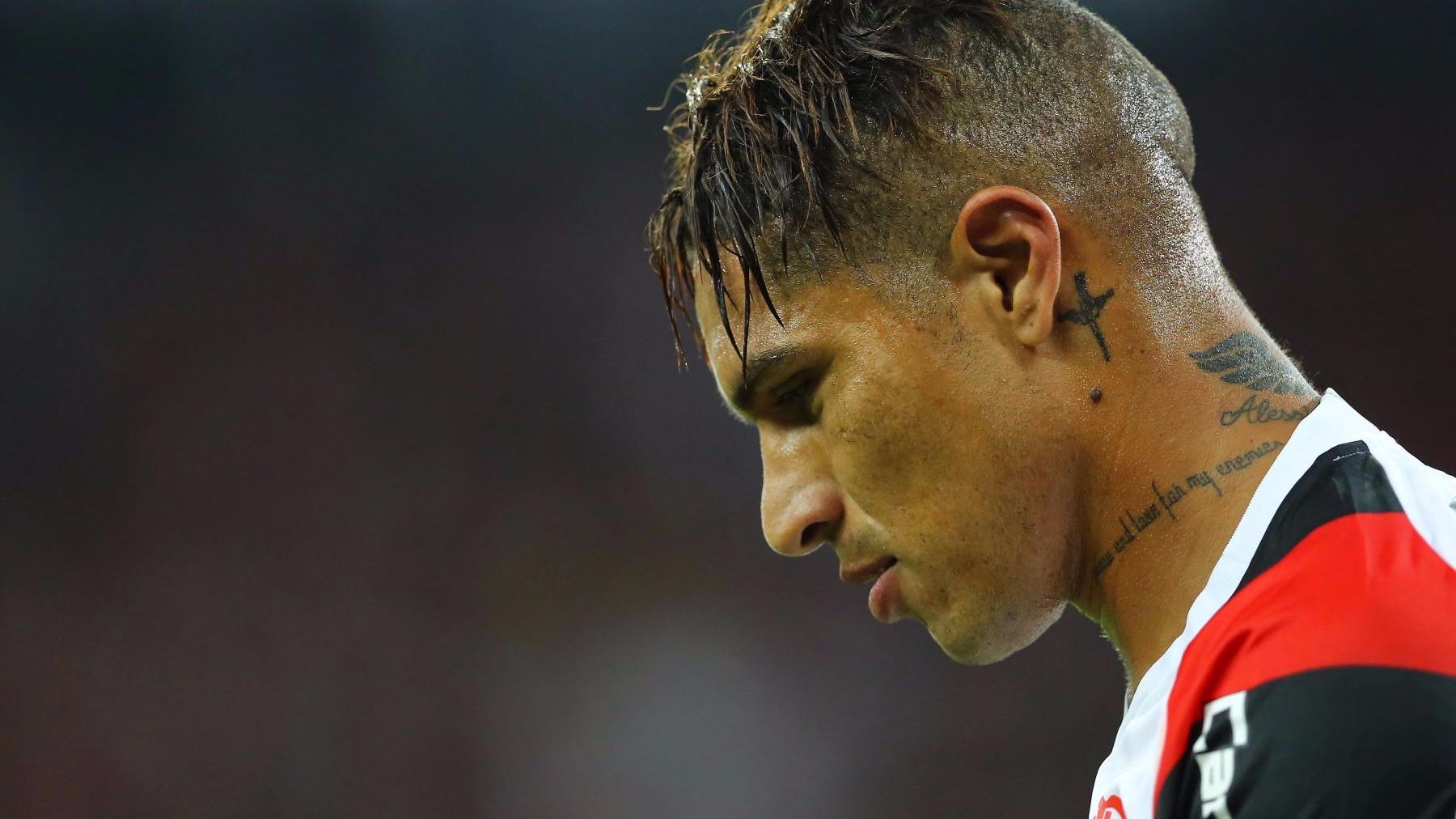 Paolo Guerrero anotó el gol ante Colombia en el 1-1 en Lima que le permitió a la Selección Peruana acceder al repechaje.