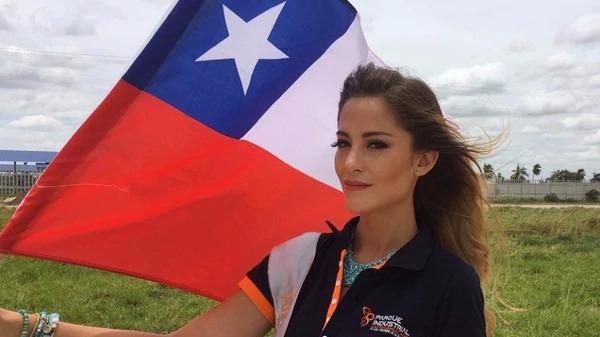 La joven concursante desató polémica en el evento celebrado en Santa Cruz (Bolivia).