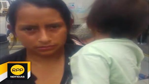 La menor fue internada en el Hospital Regional.