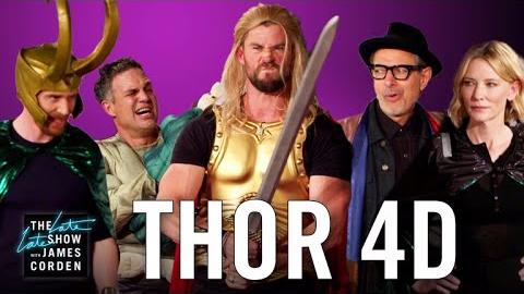 Parodia de 'Thor: Ragnarok'