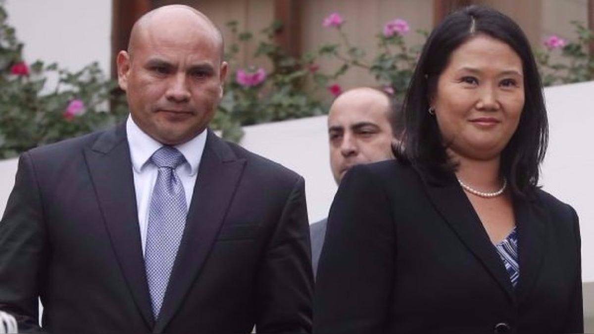 Joaquín Ramírez fue secretario de Fuerza Popular y se mostró cercano a Keiko Fujimori durante su campaña presidencial del 2016.