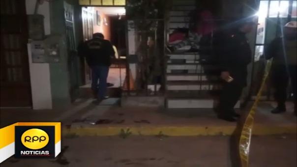 Aprovechando que estaba por ingresar a su vivienda, facinerosos dispararon contra hombre que resultó herido.
