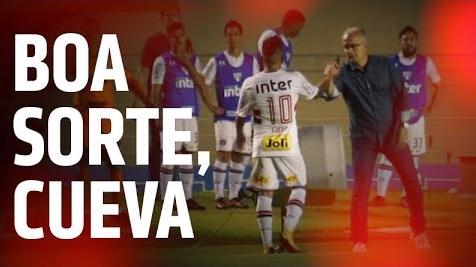 El video del Sao Paulo en el que le desea buena suerte a Christian Cueva de cara al repechaje.