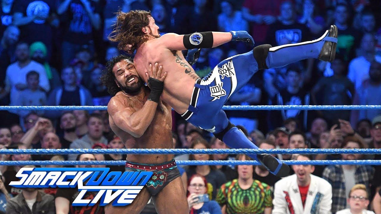 AJ Styles se coronó como nuevo campeón en Smack Down Live.