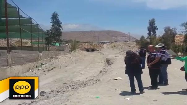 Visitan torrenteras de Cerro Colorado
