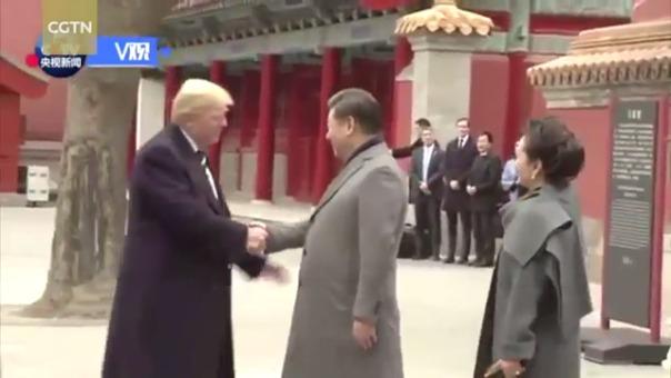 El primer encuentro entre los presidentes de Estados Unidos y China tuvo un ambiente relajado.