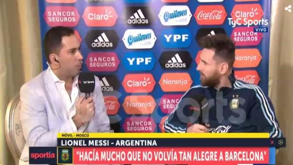 Lionel Messi habló sobres sus favoritos en Rusia 2018.