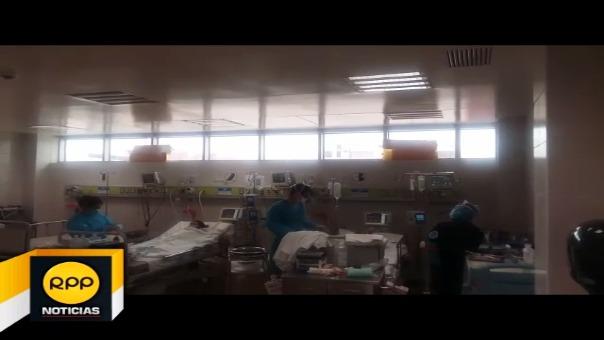 Se debaten entre la vida y la muerte en el Hospital Regional de Lambayeque