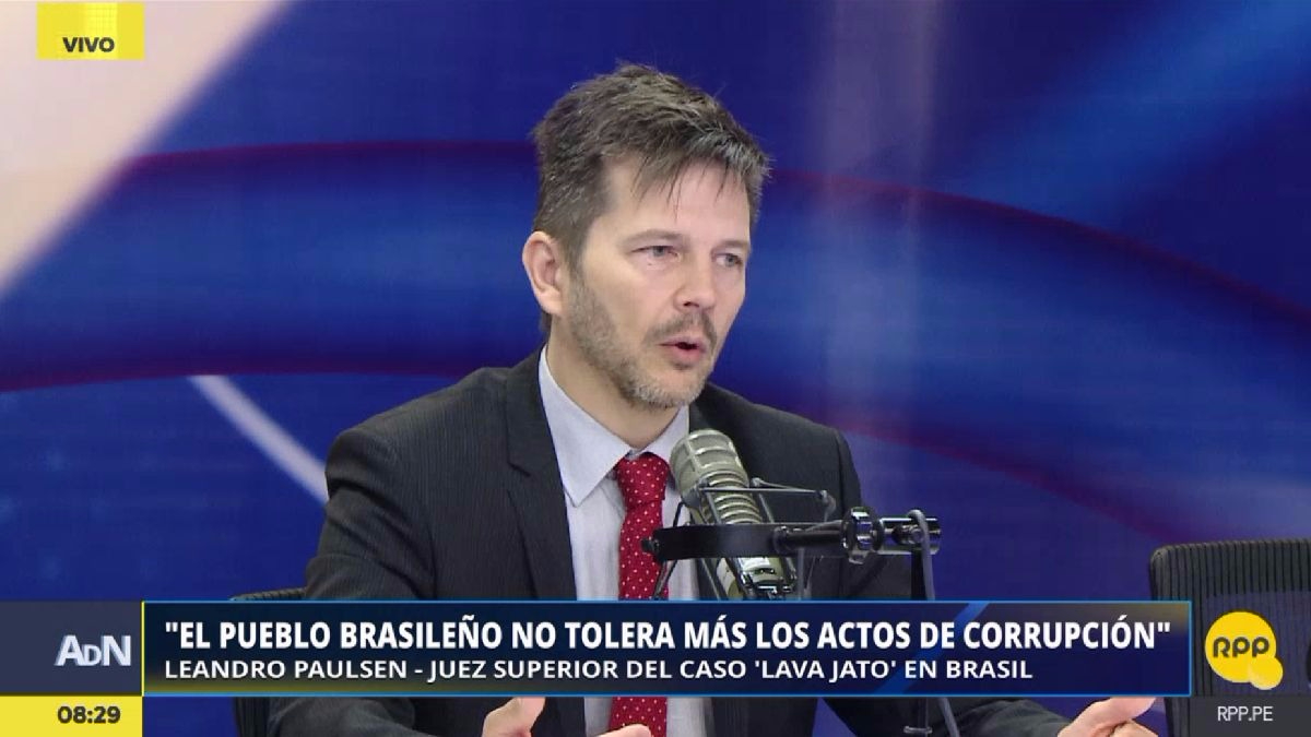 Leandro Paulsen es juez del caso Lava Jato en Brasil.