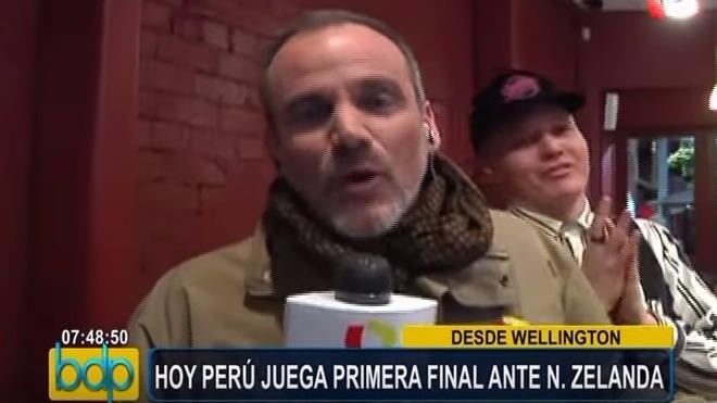 Así fueron agredidos por periodistas de Panamericana TV.