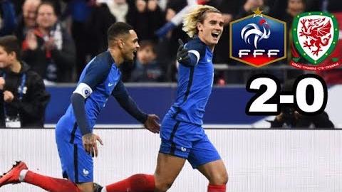 Mira aquí el resumen y los goles del Francia - Gales.
