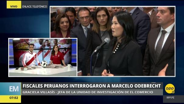 Villasís también conversó con Edición Mañana de RPP Noticias.