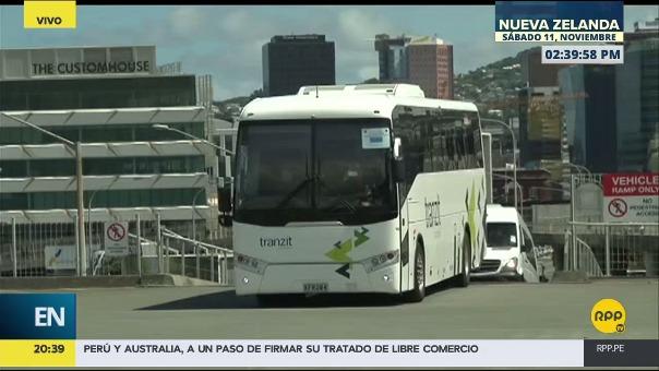 La Selección Peruana ya llegó al estadio y está a pocas horas del encuentro ante NUeva Zelanda.