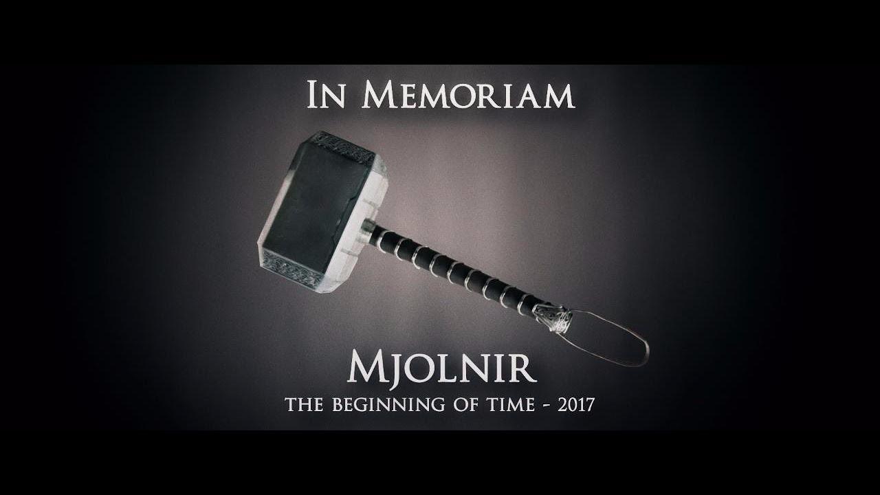Este es el video homenaje de Marvel para Mjolnir