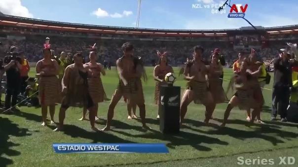 Revive el Haka de Nueva Zelanda antes del partido contra la Selección Peruana.