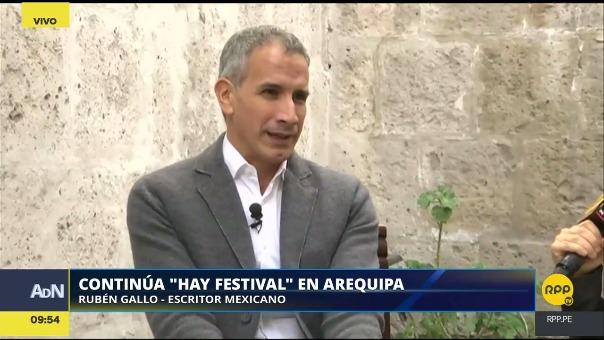 Hay Festival Arequipa se realiza del 9 al 12 de noviembre, en diversos puntos de la Ciudad Blanca.