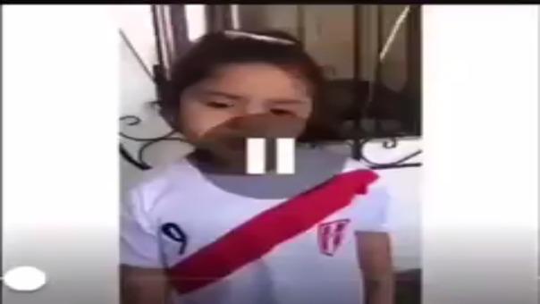 Este es el emotivo mensaje de esta niña para Paolo Guerrero.