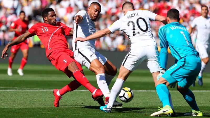 La 'Foquita' estuvo a punto de conseguir el primer gol para la selección tras una jugada sorpresiva.