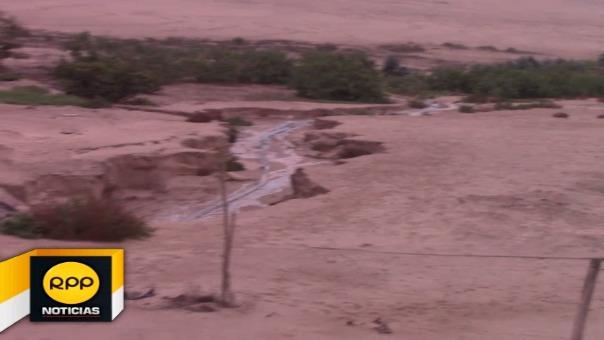 Denuncian que las aguas provenientes del penal afectan los campos de cultivo y a la comunidad en general.
