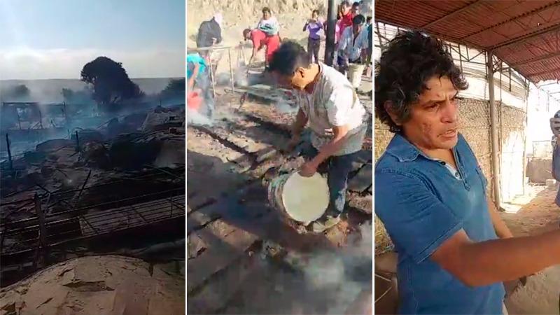 El reporte de Henry Urpeque desde el Complejo Arqueológico de Ventarrón con las declaraciones del arqueólogo Ignacio Alva