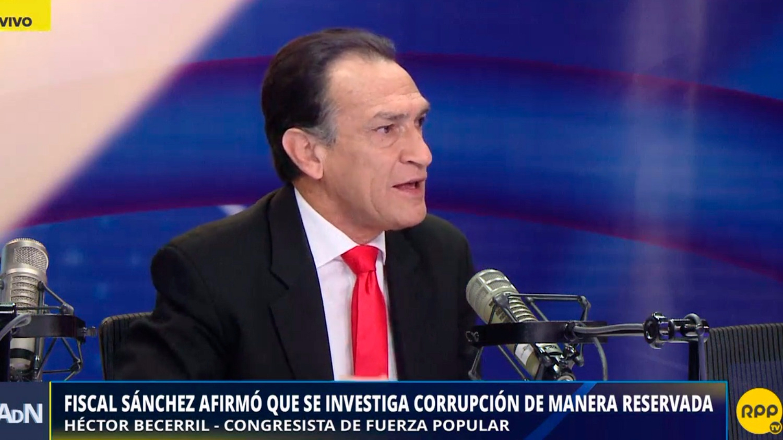 El Fiscal de la Nación afirmó que se investiga la corrupción de manera reservada.