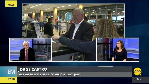 Jorge Castro, vicepresidente de la comisión Lava Jato.