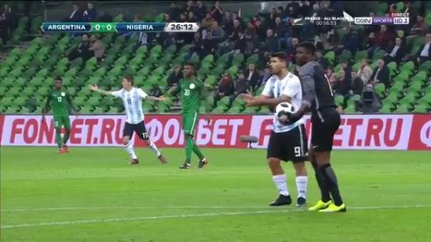 Revive la jugada del arquero nigeriano frente a Sergio Agüero.