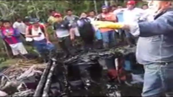 Dirigentes de la comunidad de Chapis se niegan a que sea reparado oleoducto que genera contaminación.