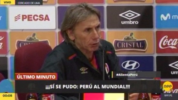 Revisa lo mejor de la conferencia de prensa de Ricardo Gareca.