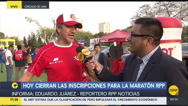 Mira lo mejor de la Expomaratón RPP.